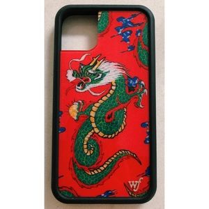 Red Dragon Wildflower iPhone 11 Case